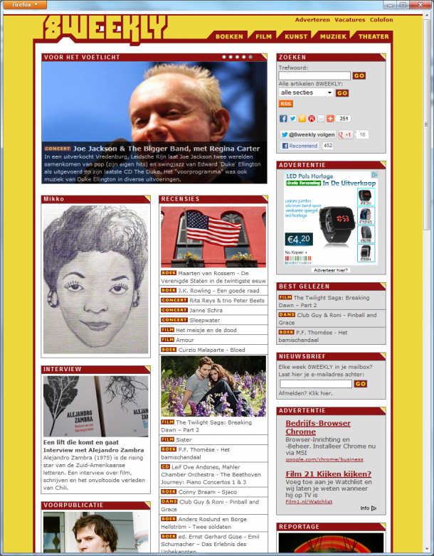 home page 8Weekly